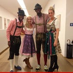Photo of Usain Bolt at Oktoberfest Hitler's Worst Nightmare