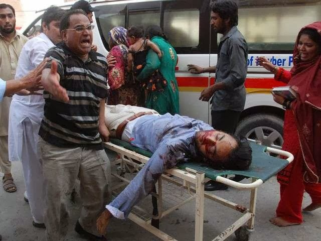Photo of 75 dead in attack on Pakistan church