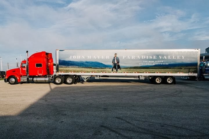 Photo of John Mayer Takes Katy Perry's Semi-Truck Idea For A Spin