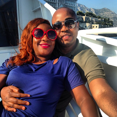Photo of Ini Edo Pregnant: Husband Exposes Her Pregnancy Baby Bump During Vacation