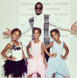 Photo of Diddy's Daughters, 7, Make Modeling Debut