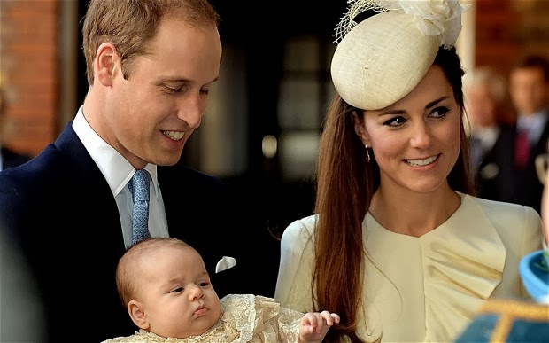 Photo of Prince George Christened At St James's Palace