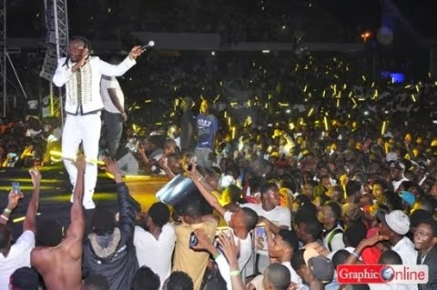 Photo of Samini stings Shatta Wale at Guinness Eruption Concert