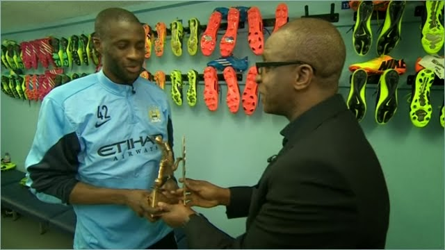 Photo of Yaya Toure named 2013 BBC African Footballer of the Year