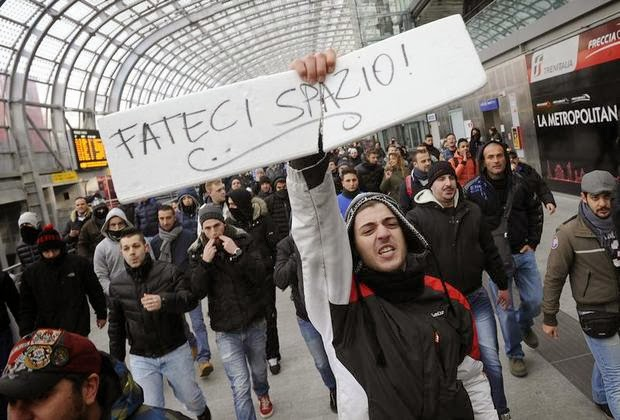 Photo of Italy: 'Pitchfork protesters' disrupt road and rail travel in protest at state of economy