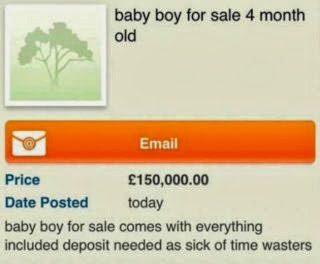 Photo of Mother's children taken after she tries to 'sell one on Gumtree for £150,000′