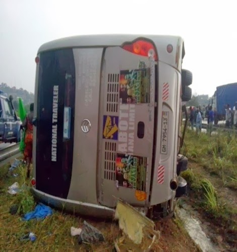 Photo of Itz Tiffany , J. Martins Involved In Accident (Photos)