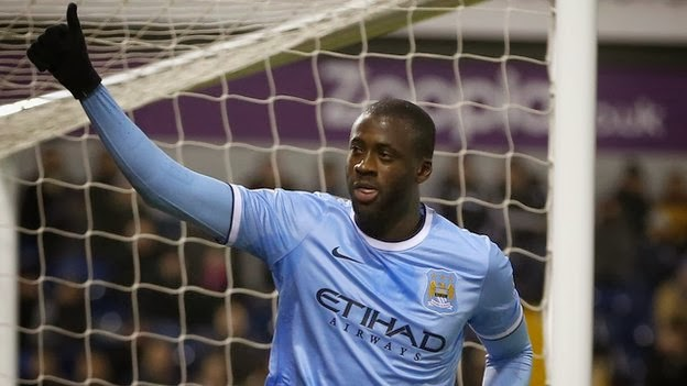 Photo of Yaya Toure: Manchester City star named Caf Player of the Year
