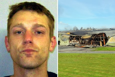 Photo of Man jailed for six years after burning down crisp factory with cigarette – leading to loss of 100 jobs