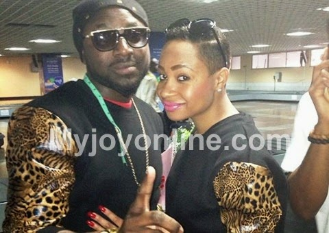 Photo of Elikem and Pokello deny breakup; say they are still together, happy