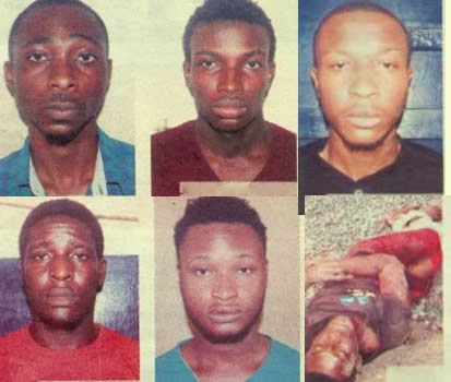 Photo of Five Nigerian students at UCC arrested for murder