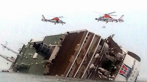 Photo of Desperate search for missing South Korea ferry passengers continues