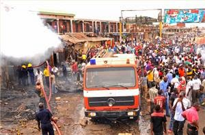 Photo of More than 100 killed in Nigeria twin blasts