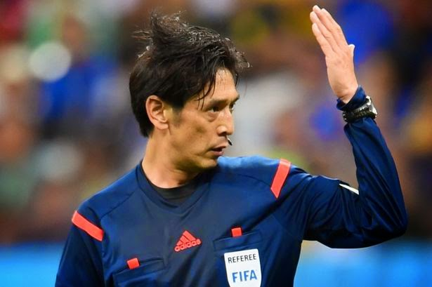Photo of World Cup opening match referee Yuichi Nishimura once caused a riot in the Congo