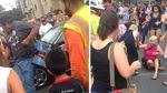 Photo of Comic Con–Zombie Walk Turns Violent Woman Hit By Car When Crowd Goes Berserk