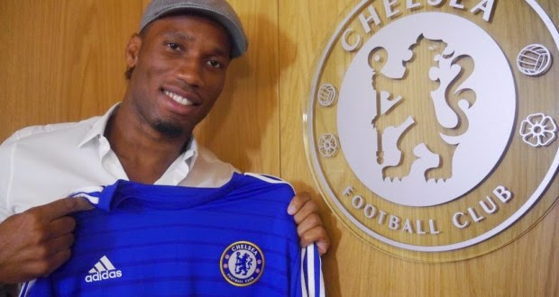 Photo of Chelsea re-signs Drogba on a free transfer
