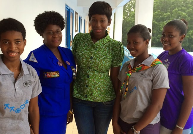 Photo of Ama K. Abebrese partners Ghana Girl Guides Association to fight skin bleaching