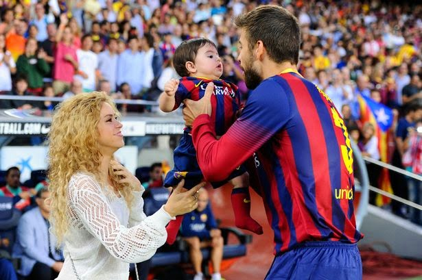 Photo of Shakira confirms she IS pregnant with her second child, GOALLL!