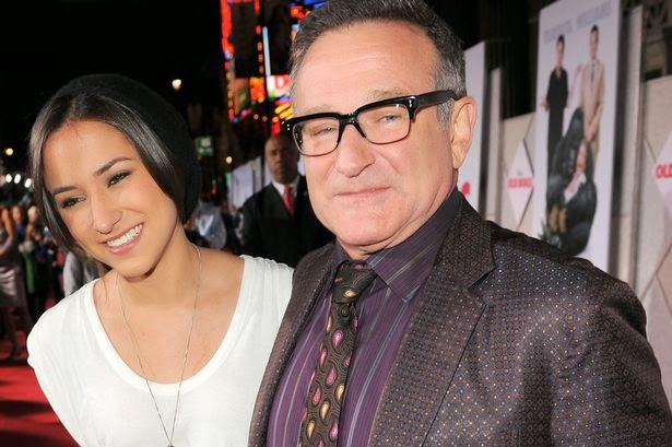 """Photo of Robin Williams' daughter: """"Why couldn't beloved dad find it in his heart to stay?"""""""