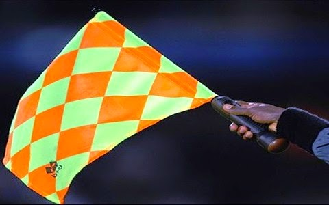 Photo of Two Ghanaian referees for Women's Championship