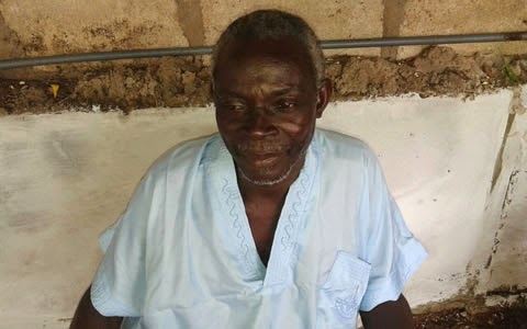 Photo of Ghanaian Prophet claims he has Ebola cure