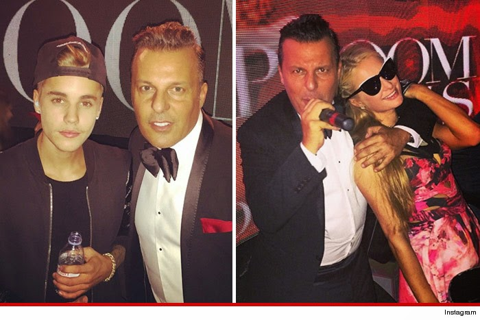 Photo of Justin Bieber –One Night in Paris with Paris Hilton …While Selena GomezFlies Home