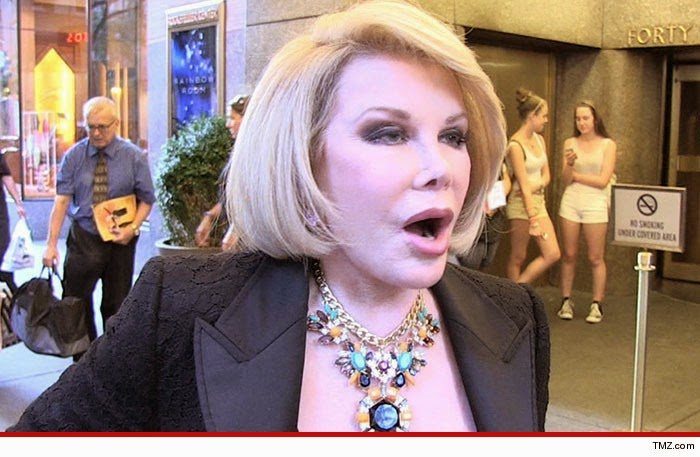 Photo of Joan Rivers –Cause of Death May Remain Mystery …Because NO AUTOPSY