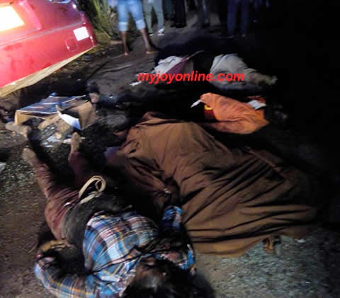 Photo of Dawn tragedy: Nine dead , 40 injured after two buses crashed head-on