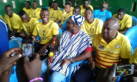Photo of Kwesi Nyantakyi has a new title: Bolli Naa (or Chief of Soccer)