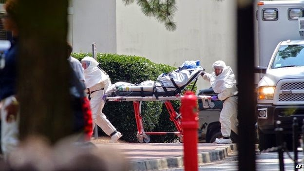 Photo of First Ebola case diagnosed on US soil
