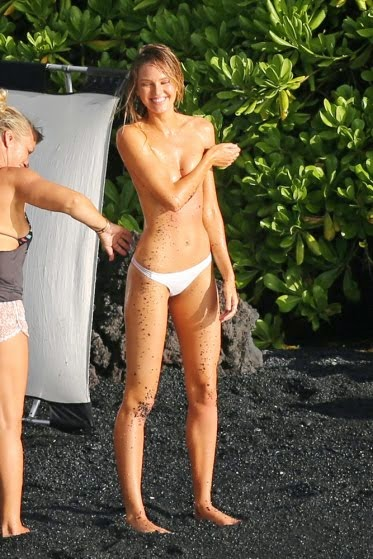 Photo of Candice Swanepoel sizzles in Hawaii swimsuit shoot