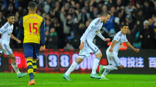 Photo of Premier League – Swansea complete rousing win over Arsenal