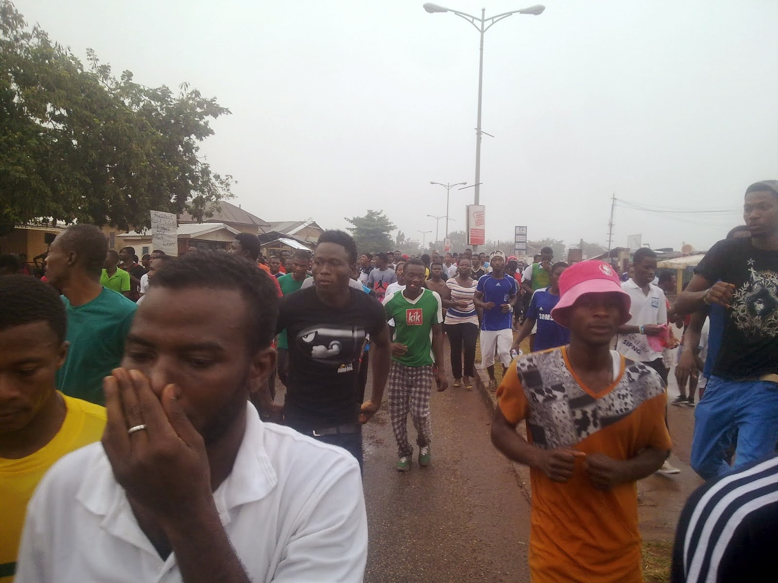 Photo of Photo: Road Safety Walk in Brong Ahafo Records Massive Turn-out