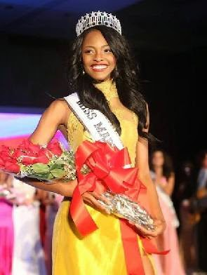 Photo of Ghanaian-American is Miss Maryland