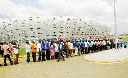 Photo of 2 People feared dead, 20 others injured at Uyo stadium inauguration in Nigeria