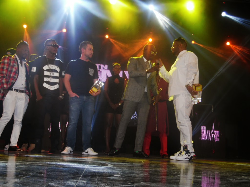 Photo of Winners at the 2014 4Syte Music Video Awards