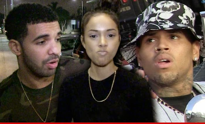 Photo of Drake — Chris Brown is a Liar … Karrueche's Not Even My Type