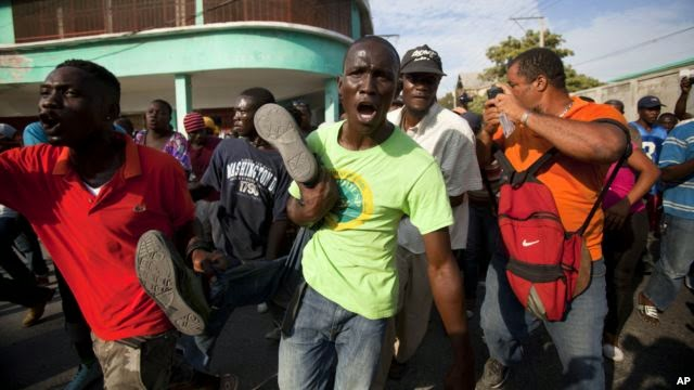 Photo of One Shot Dead in Haitian Anti-government Protests