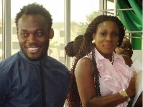 Photo of Essien's wife embarks on West Africa Ebola campaign