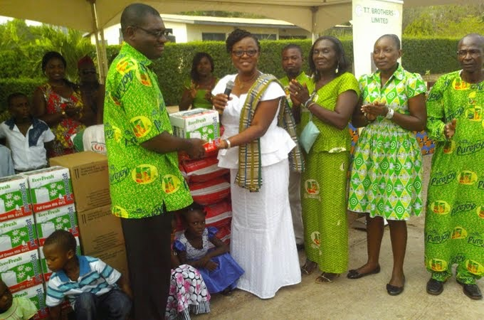 Photo of T.T. Brothers reaches out to Tema SOS Village