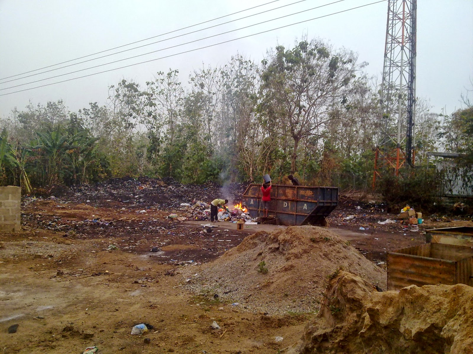 Photo of Photos: Dump Site Cleared by S.M.A; following a report by The News Hunter Mag