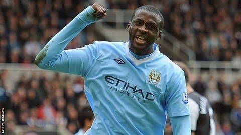 Photo of Yaya Toure named African Player of the Year