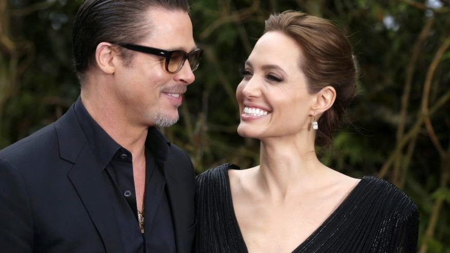 Photo of Report: Angelina Jolie and Brad Pitt will meet with Pope Francis