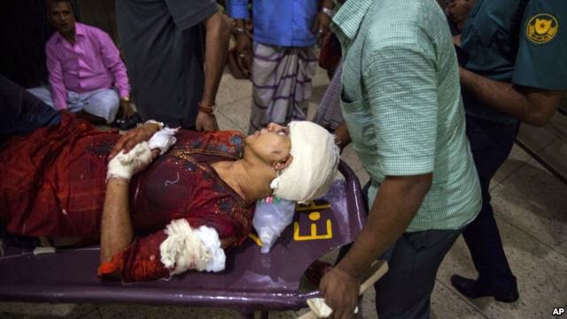 Photo of Blogger Hacked to Death in Bangladesh