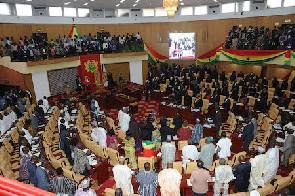 Photo of Parliament Disgraced: MPs take 'soli'