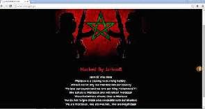 Photo of Ministry of Education's website hacked