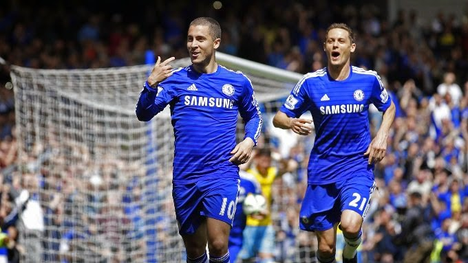 Photo of Chelsea clinch title as Eden Hazard seals win over Crystal Palace