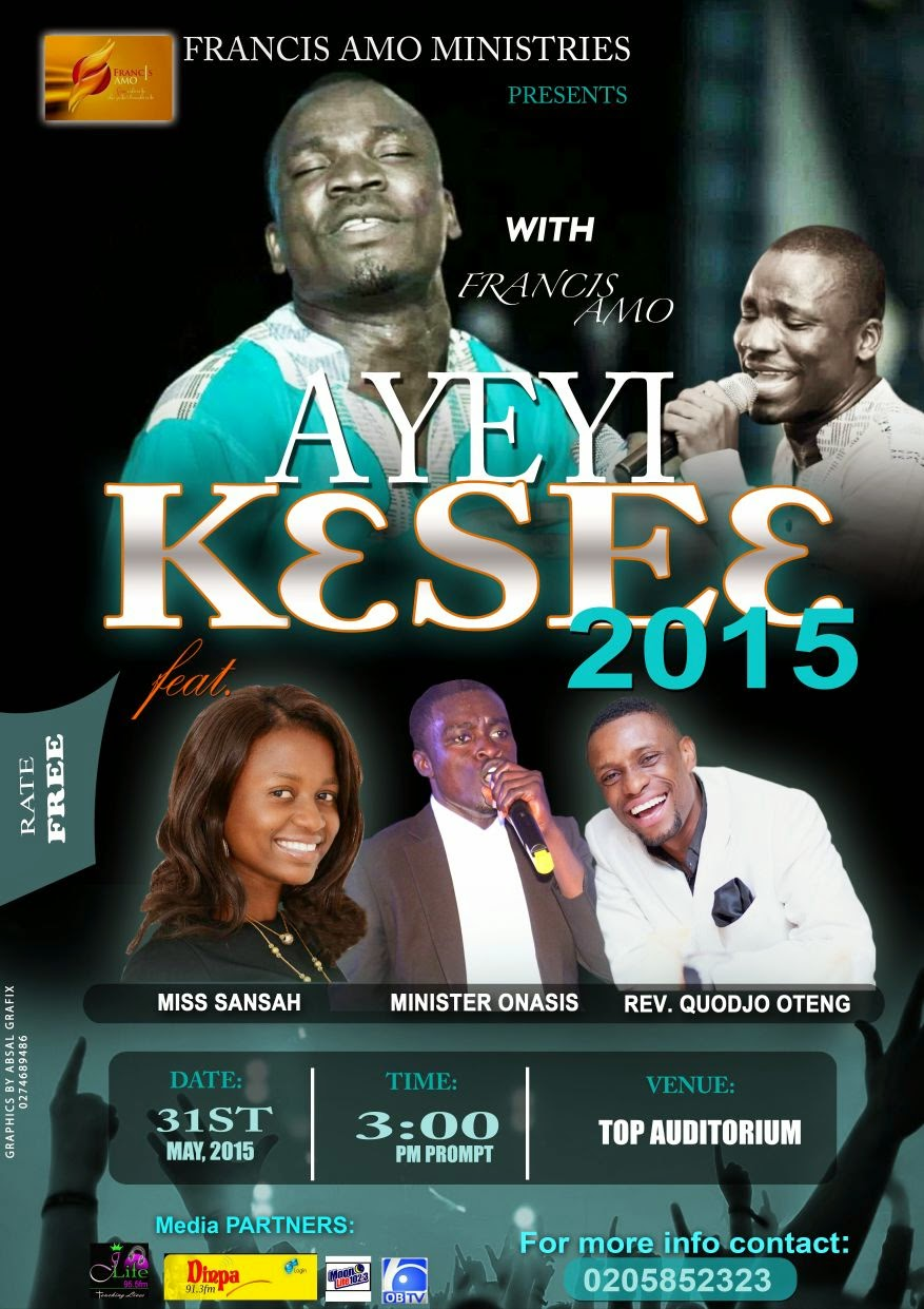 Photo of Ayeyi Kese 2015 Hits Sunyani on May 31st