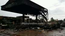 Photo of Report: Almost 100 lives lost in fire at Goil filling station at Circle