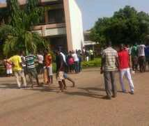 Photo of Sunyani Poly students riot over alleged misappropriation of SRC funds